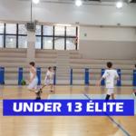 U13 EL – Si ferma il Meeting Club: sconfitto in trasferta dall'Olimpia Taggia